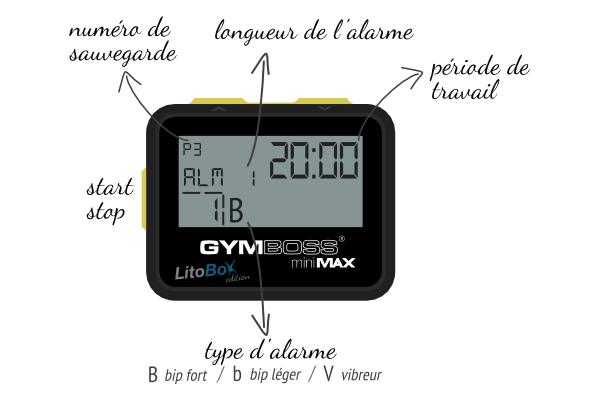 GymBoss en mode AMRAP 20 minutes