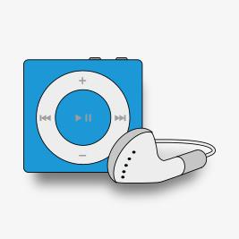 lecteur mp3 iPod shuffle