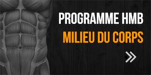 programme HMB milieu du corps