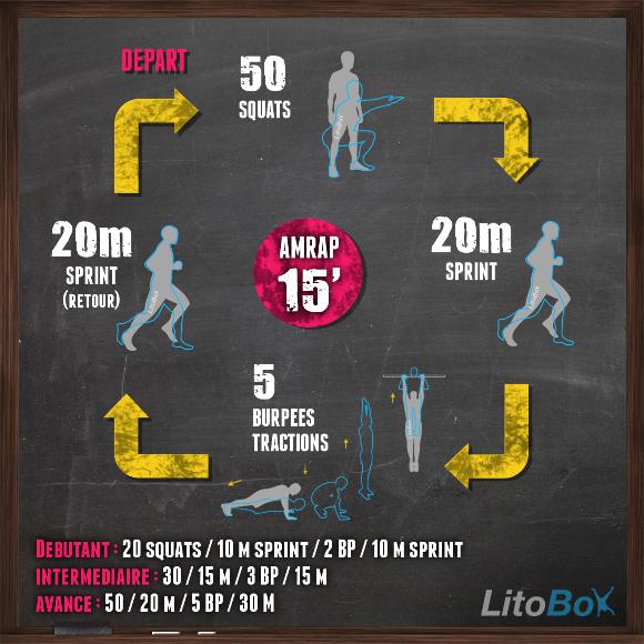Exercices sans matériel en 15 minutes #157