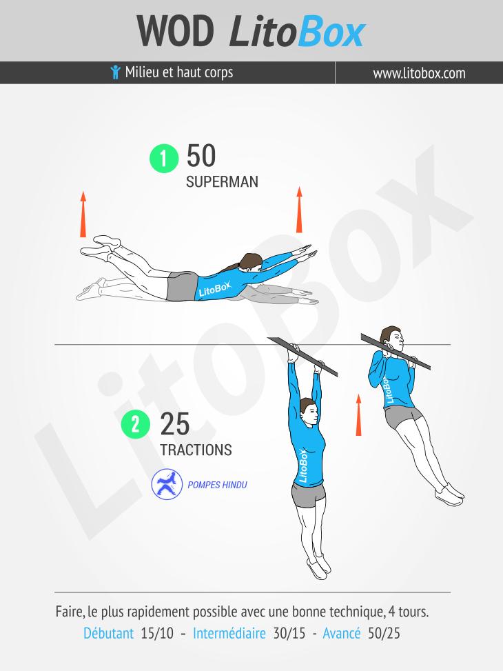 Musculation au poids du corps spécial dos #264