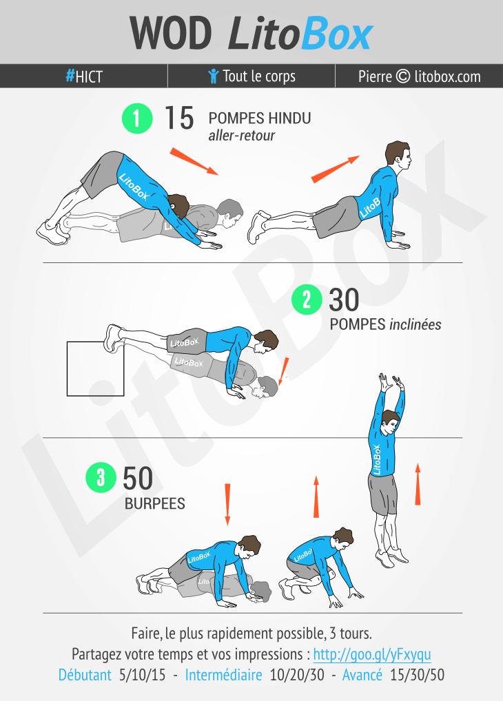 Circuit au poids du corps pour les bras #295