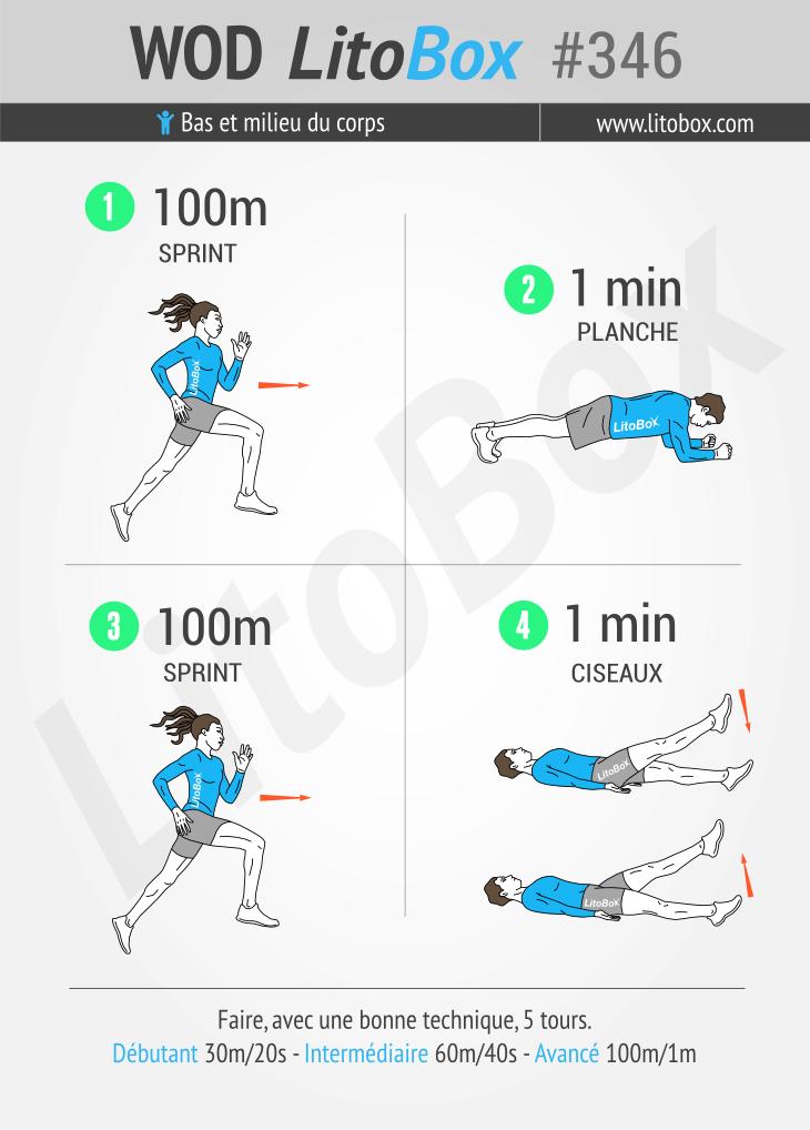 Exercices au poids du corps pour sécher #346