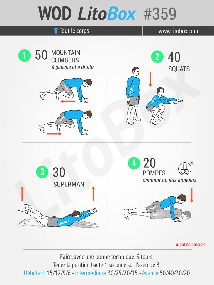 Travaillez tout le corps avec ces exercices #359
