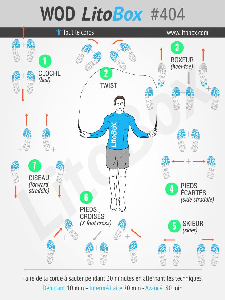 Corde à sauter : un entraînement cardio pour brûler du gras