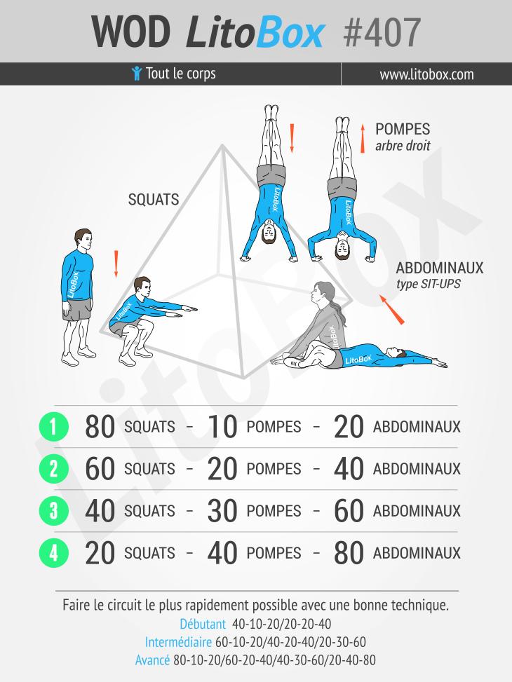 Musculation sans mat riel en mode pyramidal 407 for Abdos fessiers a la maison