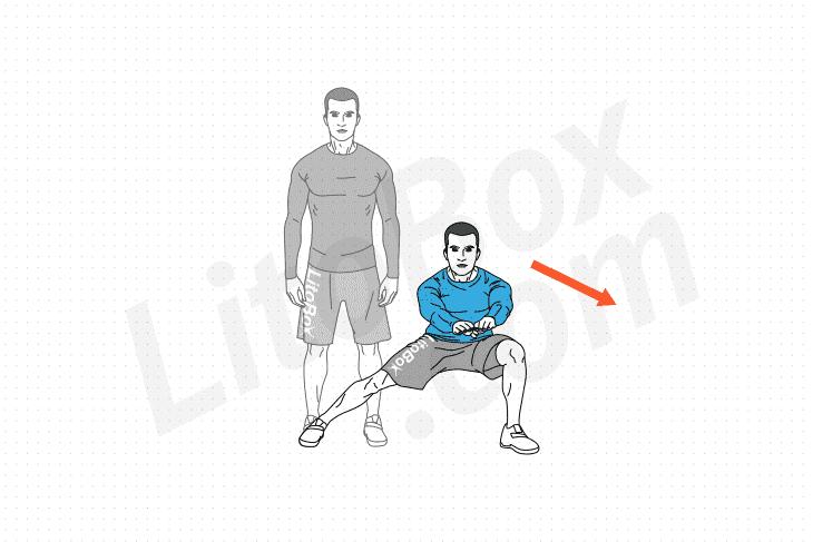 Fentes sur le côté exercice