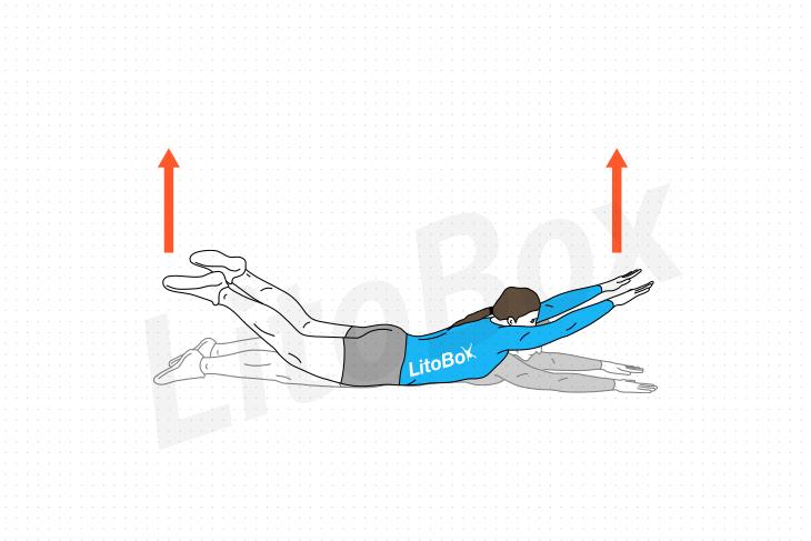 Superman exercice