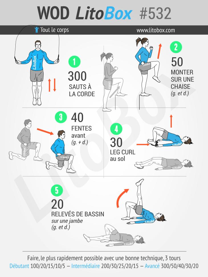 Trening mięśni i zgrabnych nóg # 532
