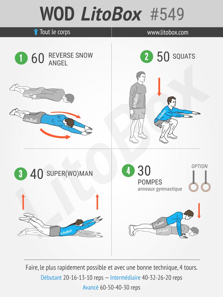 Ćwiczenia bez wyposażenia (trening masy ciała) # 549