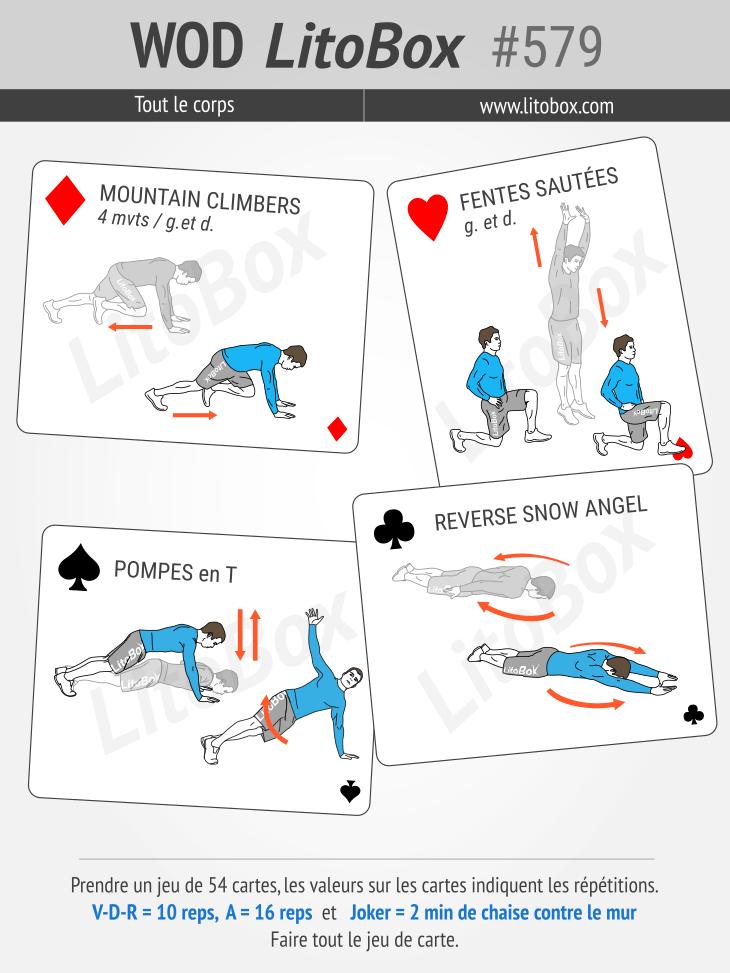 Budowanie mięśni za pomocą talii kart # 579