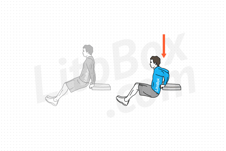 dips sur chaise exercice
