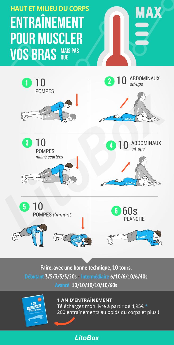 Augmentez votre max pompes (endurance musculaire) #452